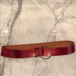 NWOT Banana Republic red belt